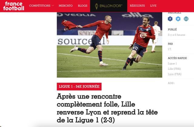 """Fransa'da manşetleri Burak süsledi, ülkenin en önemli spor gazetesi L'Equipe, """"Türk yıldız sayesinde şampiyonluğa"""" başlığını attı"""