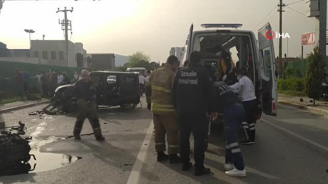 Son dakika... Direksiyon hakimiyetini kaybeden sürücü kaza yaptı: 1 yaralı