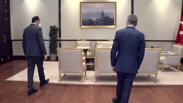 Cumhurbaşkanı Yardımcısı Oktay, Türk Dünyası Belediyeler Birliği Başkanı Altay'ı kabul etti