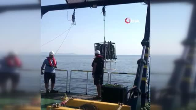 TÜBİTAK MAM Gemisi, ilk deprem seferini tamamladı
