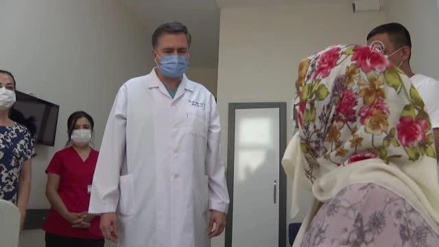 Kan ve dokusu 10 çocuğuyla uymayan anne, damadından yapılan nakille sağlığına kavuştu