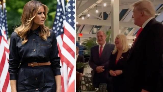 Trump'ın doğum günü partisinde eşi Melania'nın olmaması dikkat çekti