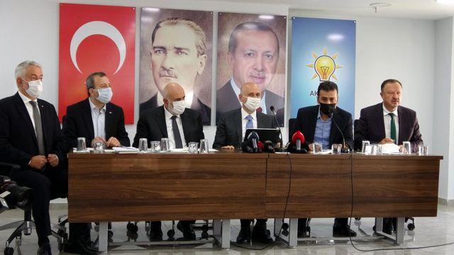 """Bakan Karaismailoğlu: """"Demirel'i Boğaziçi Köprüsü için eleştiren zihiniyet bugün de Kanal İstanbul için değişmedi"""""""