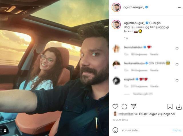 Fenomen Oğuzhan Uğur ile oyuncu Müjde Uzman aşk yaşadıklarını ilan etti