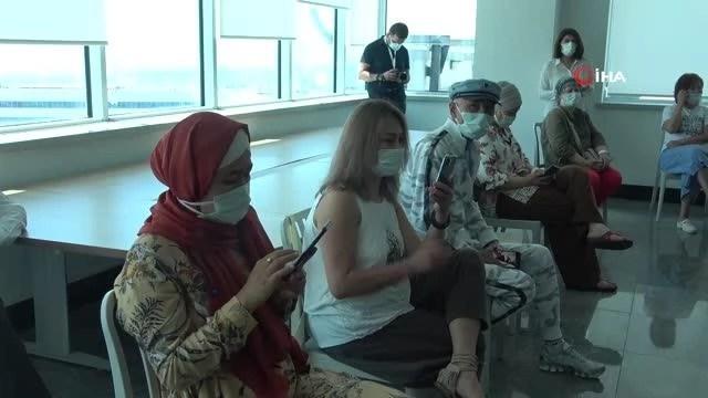 Mersin'e gelen yabancı hastalar hem şifa hem de moral buluyor