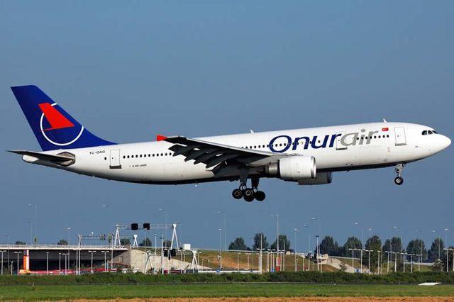 Onur Air'in tüm uçakları icraya verildi, ikinci bir talimata kadar uçuşlar durduruldu