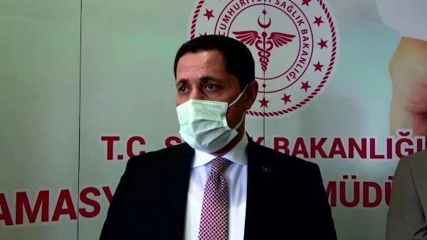 Amasya Valisi Masatlı: Aşı miktarı 250 bini geçmiş durumda