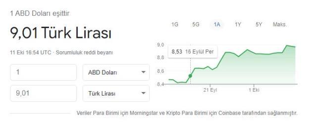 ekonomi dolar tarihi zirvesini gorerek 9 tl seviyesine 14454031 2848 m