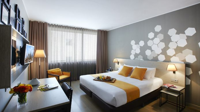 Hotel Citadines Ramblas Barcelona Europe 3 Hrs Star Hotel