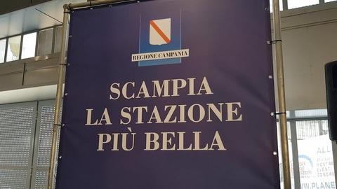 """La Stazione di Scampia diventa """"stazione dell'arte"""""""