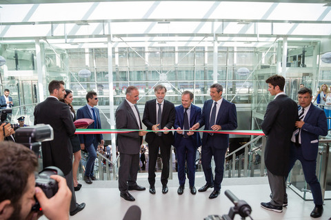 Termini inaugurata la nuova Terrazza foto Davide FracassiAgToiati  Il Messaggeroit