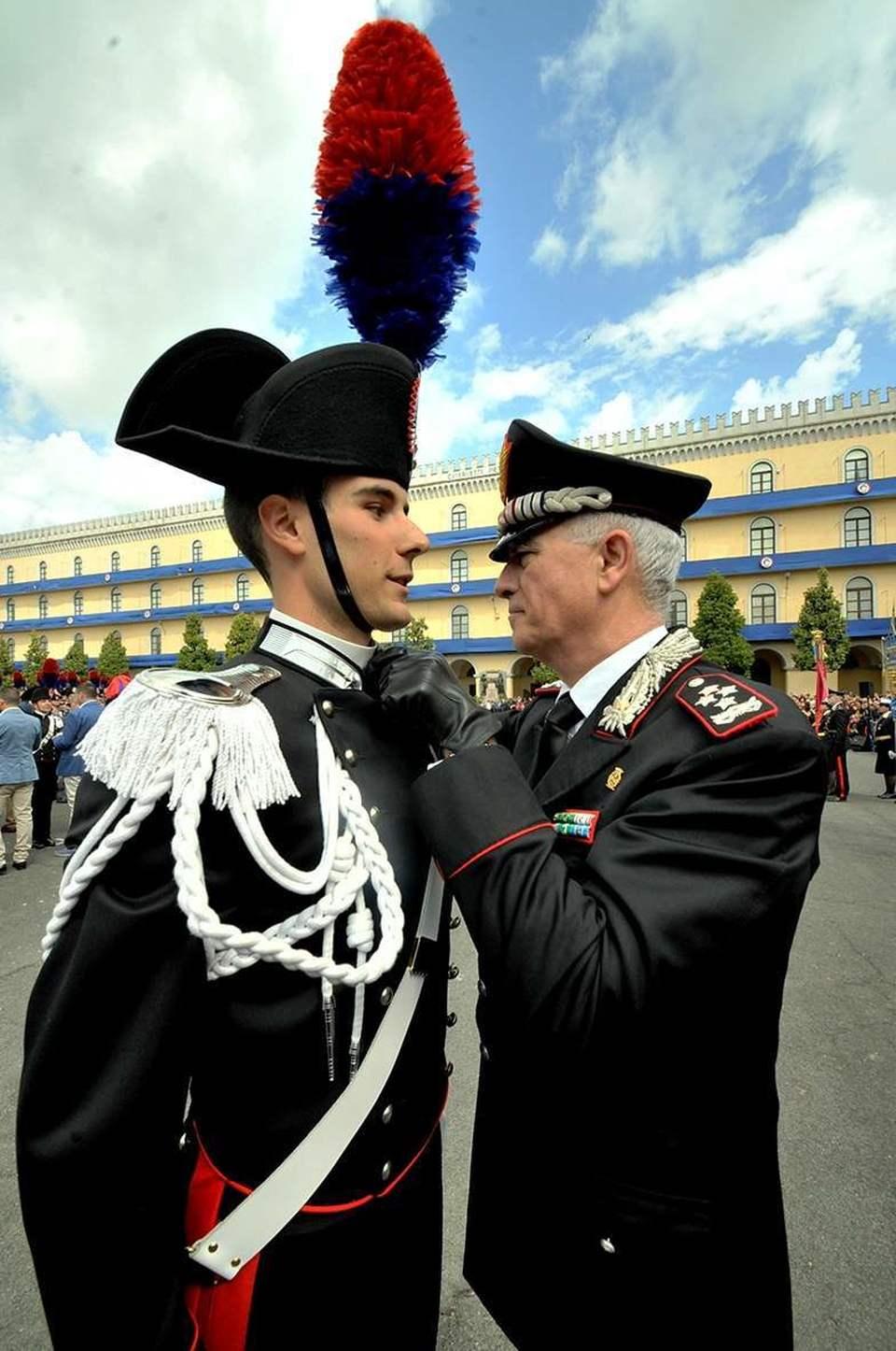 Roma il giuramento dei carabinieri  Il Messaggeroit