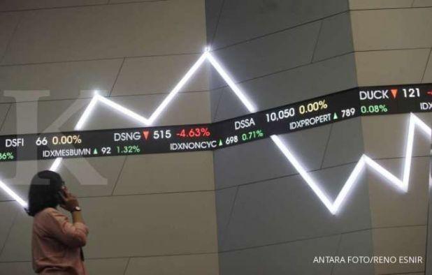 Saham-saham yang banyak dijual asing di awal pekan ini