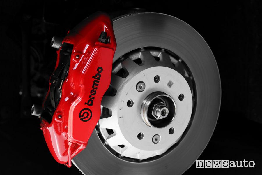 Renault Megane RS Trophy 2019, Brembo braking system