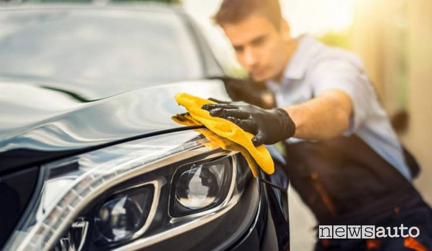 car body care products