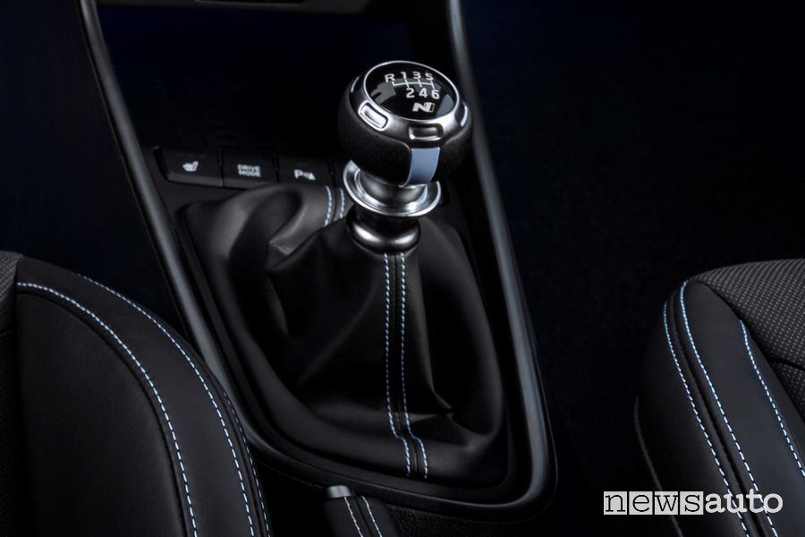 The manual gearbox of the new i20 N has been reinforced to make up for the increased torque and Launch Control function