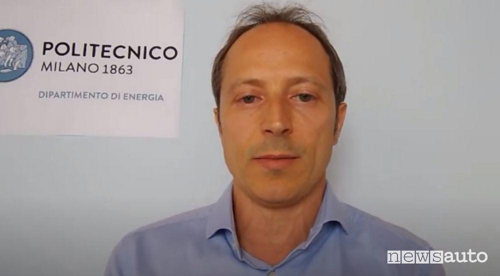 Prof. Davide Bonalumi, Professor of Energy Systems at the Milan Polytechnic