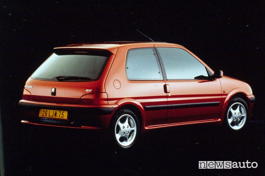 Peugeot 106 GTI from 1996