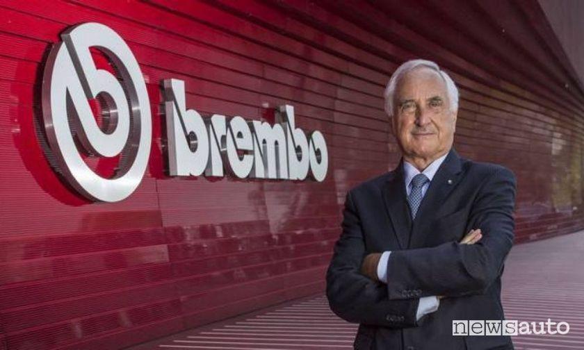 Brembo Chairman, Alberto Bombassei