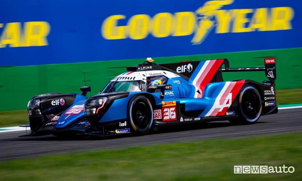 WEC 2021 6 Hours of Monza 2021 Alpine A480 2nd overall