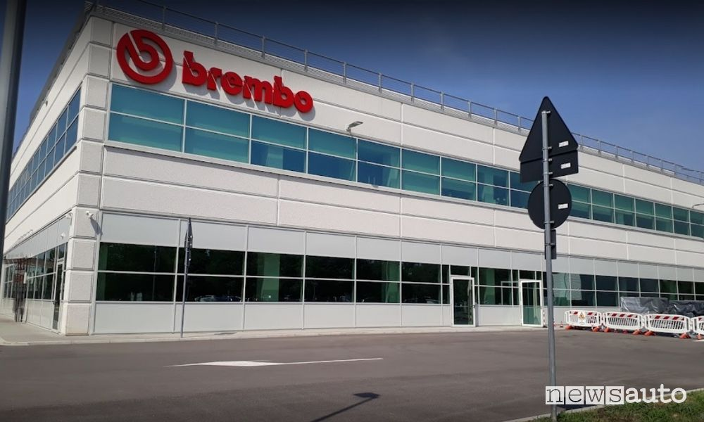 Where does the Brembo company grow the most?