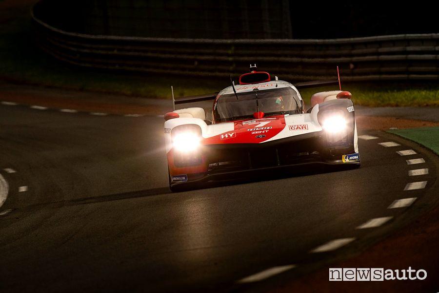 Toyota GR010 Hybrid # 7 winner of the 2021 24 Hours of Le Mans