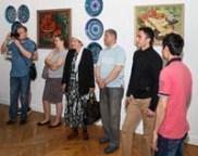 Выставка риштанской керамики в ЦДХ. Фото - Николай Ефремов