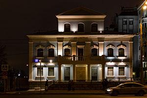 Ночная Москва. Якиманка. Фото Николая Ефремова