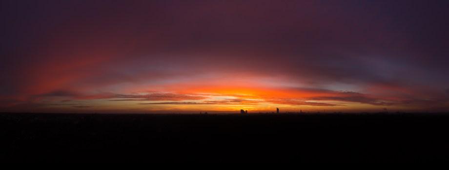Der Himmel brennt…