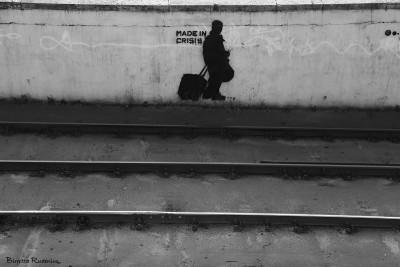 Street art - crisis