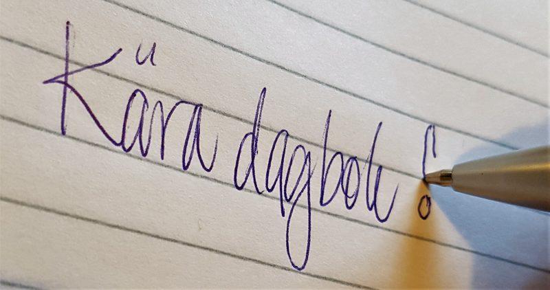 親愛なる日記! 私のブログ