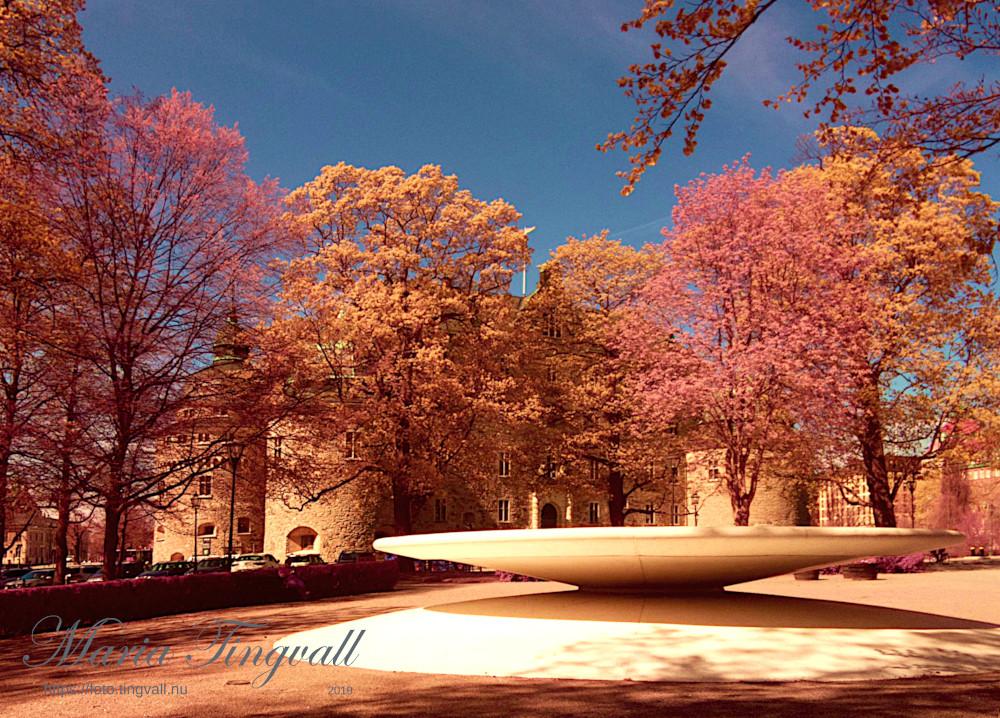 Fontänen i slottsparken