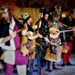 musicanti medioevali