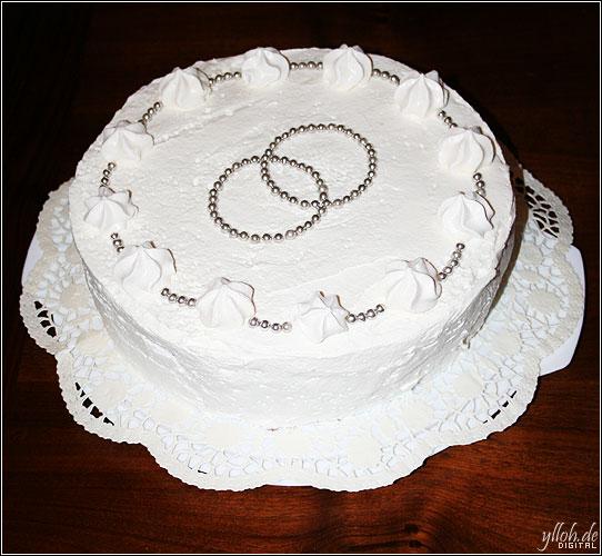 Hochzeitstorte zur Silberhochzeit  Just an Yllusion