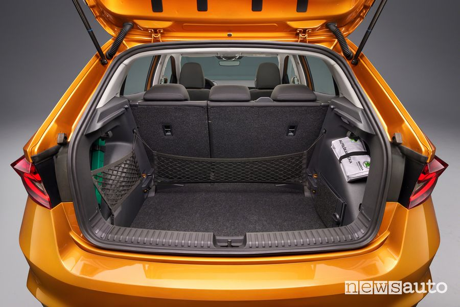 New Škoda Fabia trunk