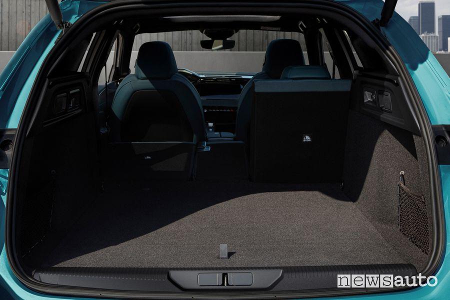 New Peugeot 308 SW trunk