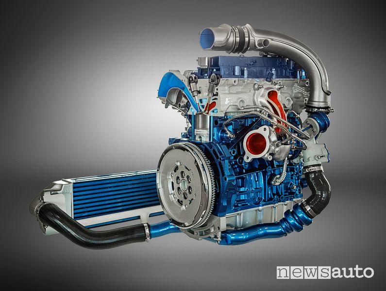Ford EcoBoost 2.3 Focus ST engine