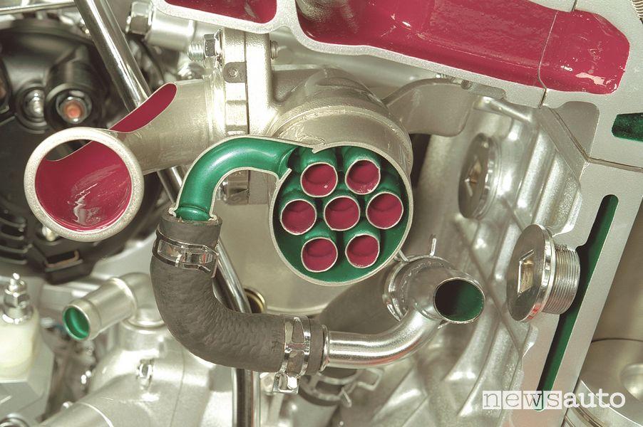 Honda i-CTDi diesel engine EGR valve