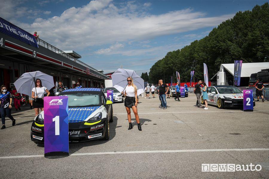 E-STC Series starting grid at Imola
