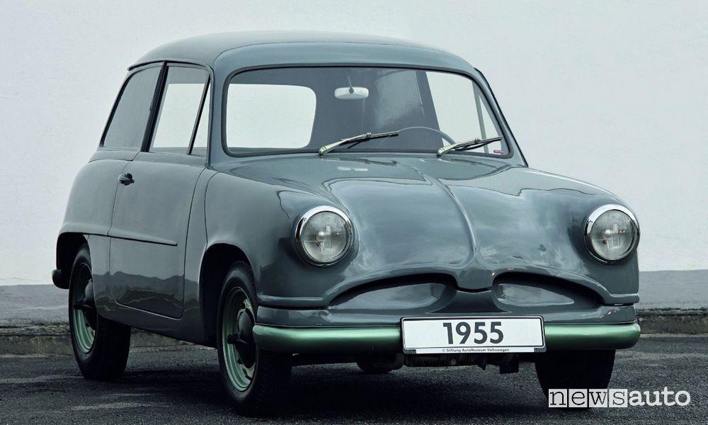 Volkswagen Beetle prototype EA 48 1955