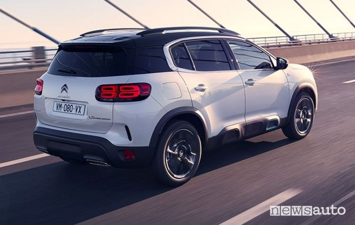 Rear lights Citroen C5 Aircross Hybrid plug-in