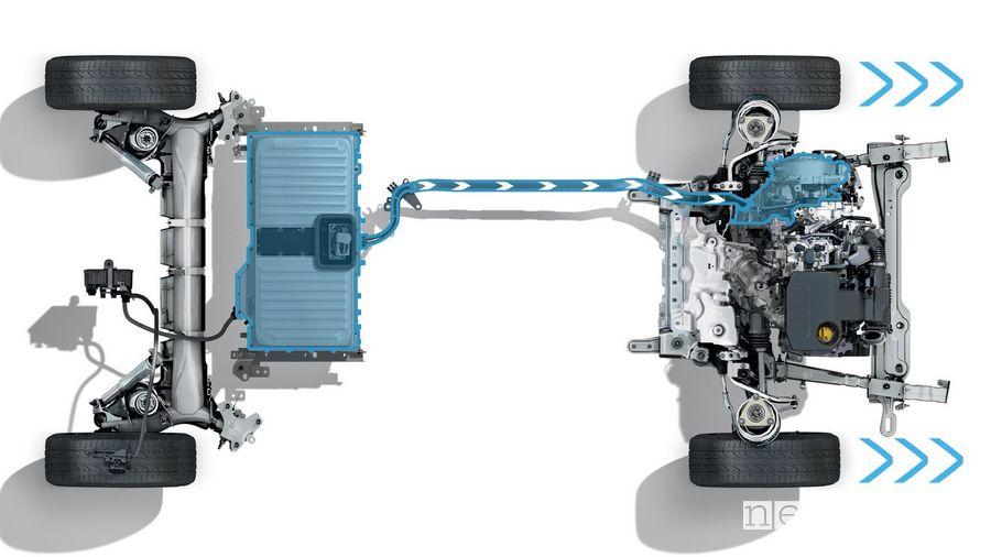 E-Tech Renault Megane E-Tech Plug-in hybrid system