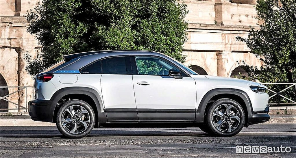 Long-term rental for electric car, Mazda MX-30