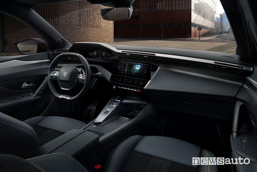 Peugeot 308 i-Cockpit cockpit dashboard