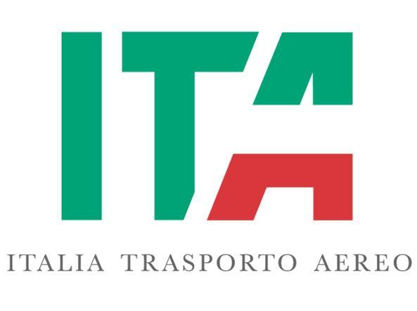 logo of ITA (ex Alitalia) Italy Air Transport