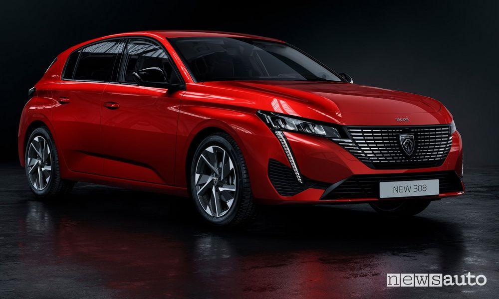 Peugeot 308 petrol, diesel and plug-in hybrid engines