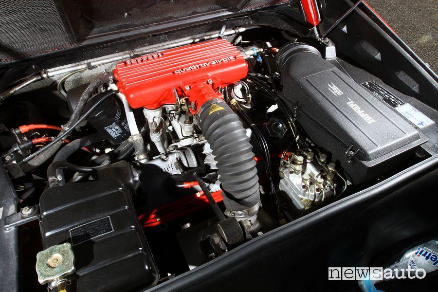 Engine compartment Ferrari 308 GTS Magnum PI