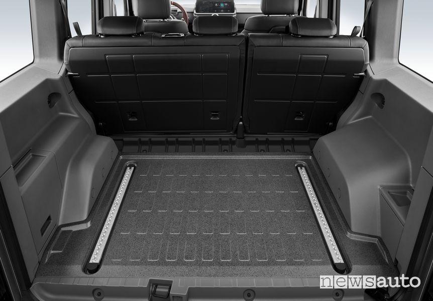 Ineos Grenadier passenger compartment trunk