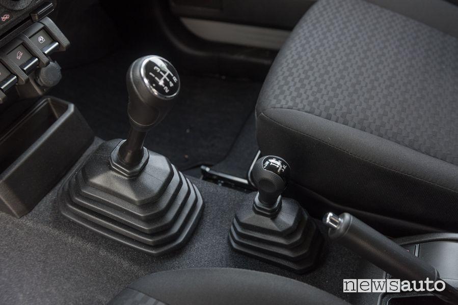 Suzuki Jimny PRO manual cockpit gearshift lever