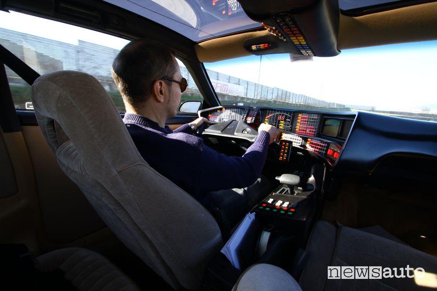 Driving KITT Supercar on the track